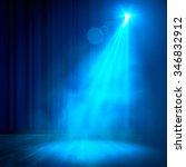 background in show. vector... | Shutterstock .eps vector #346832912