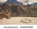lookout point for watching... | Shutterstock . vector #346849082