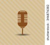 microphone symbol   Shutterstock .eps vector #346876382