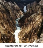 Lower Falls Yellowstone National Park - Fine Art prints