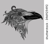 Abstract Crow Patterns