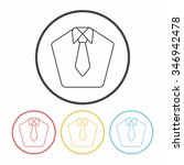 suit line icon | Shutterstock .eps vector #346942478