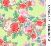 abstract elegance seamless... | Shutterstock . vector #346955306