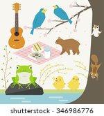 spring   Shutterstock .eps vector #346986776
