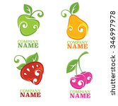 vector collection of fresh... | Shutterstock .eps vector #346997978