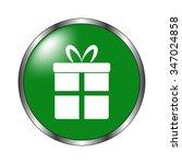 gift   green vector icon