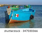 Small Fishing Boat In The...
