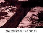 black ink streak on pink   high ... | Shutterstock . vector #3470451