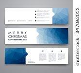 set of modern design banner... | Shutterstock .eps vector #347062052