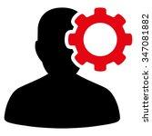 migraine vector icon. style is... | Shutterstock .eps vector #347081882