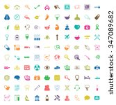 medical icons set.  | Shutterstock . vector #347089682
