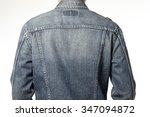 a man boy  male  wearing blue... | Shutterstock . vector #347094872
