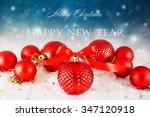 christmas background | Shutterstock . vector #347120918
