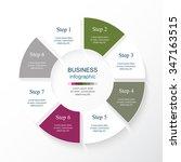 vector infographic. template... | Shutterstock .eps vector #347163515
