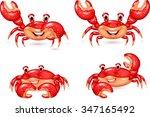 Cartoon Happy Crab Collection...