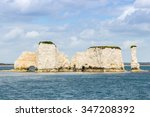 Old Harry Rocks At Poole Harbour