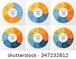 collection of infographic... | Shutterstock .eps vector #347232812