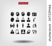 business man icons | Shutterstock .eps vector #347239466