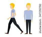 avatar person design  vector... | Shutterstock .eps vector #347250782