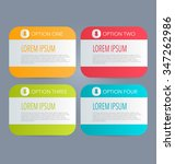 business infographics tabs... | Shutterstock .eps vector #347262986