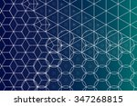 sacred geometry symbols and... | Shutterstock .eps vector #347268815