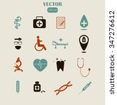 medical icons | Shutterstock .eps vector #347276612