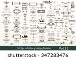 mega vector  collection or set... | Shutterstock .eps vector #347283476