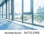 interior of modern office... | Shutterstock . vector #347311985