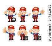 people set   profession  ...   Shutterstock .eps vector #347313632
