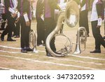 Brass Instruments With Student...