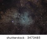 B72 The Snake nebula - stock photo