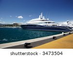 super yacht in antible  france