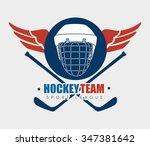 hockey  sport game graphic...