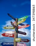 Signs  Showing Distances To...