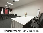 interior of a conference room   | Shutterstock . vector #347400446