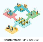 reception  training  meeting... | Shutterstock .eps vector #347421212