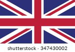 flag of the united kingdom | Shutterstock .eps vector #347430002