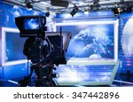 video camera   recording show... | Shutterstock . vector #347442896