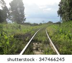 railroad tracks | Shutterstock . vector #347466245
