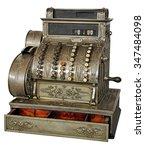 Old Vintage Cash Register...