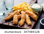 Crispy Fish And Chips With...