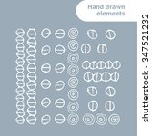 vector set for your design with ... | Shutterstock .eps vector #347521232