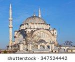 nuruosmaniye mosque in istanbul ... | Shutterstock . vector #347524442