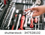 customers or worker  builder ... | Shutterstock . vector #347528132