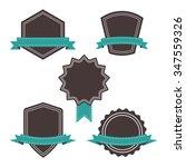 vector illustration   blank... | Shutterstock .eps vector #347559326