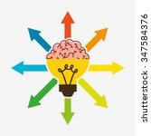 big idea design  vector... | Shutterstock .eps vector #347584376