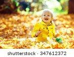 Little Happy Boy In Yellow...