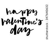 Happy Valentine's Day. Hand...