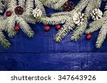christmas decoration. christmas ... | Shutterstock . vector #347643926