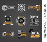beautiful vector set of the... | Shutterstock .eps vector #347653355